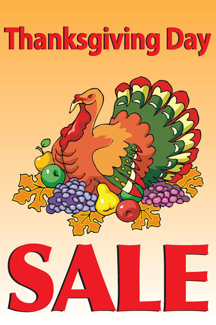 Thanksgiving Sale Posters Style Design Id 1000