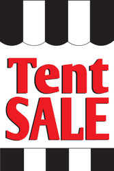 Tent Sale Window Posters Style1000