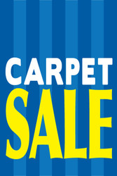 Carpet Sale Window Poster Sign