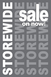 Storewide Sale Posters Style1300