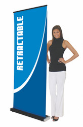 Retractable Banner Stand BLOK