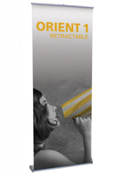 Orient 800 Retractable Banner Stand 31.5""