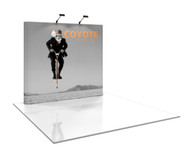 Coyote 8ft Straight Pop Up Display (3x3)