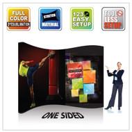 EZ Wave Snap Tube Display 10ft S-Shape