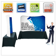 EZ Wave Snap Tube Display Curved Table Top Single Sided