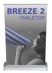Breeze 2 tabletop retractable banner stand