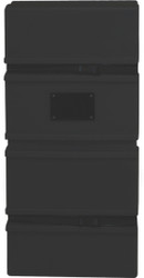 OCA-2 Black Plastic Molded Hard Case