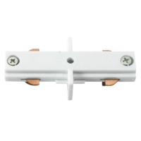 KNTRKLCW In-Line Track Connector White