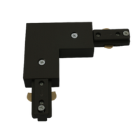 KNTRKRAB Right angle Track Connector Black