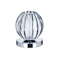 Searchlight 1811CLTouch Lamp Chrome/Clear