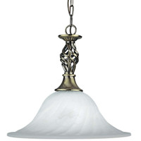 Searchlight 4581-14AB Cameroon Ceiling Pendant Antique Brass
