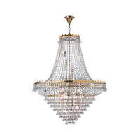 Searchlight 9112-82GO Versailles 13 Light Gold Chandelier