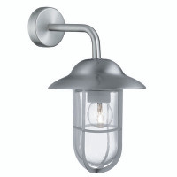 Searchlight 3291SS Well Glass Wall Lantern Stainless Steel