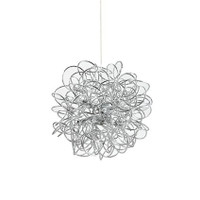 Ideal Lux 114811 Dust SP8 Modern Chrome Ceiling Pendant