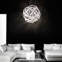 Ideal Lux 023977 Lemon SP12 Bianco Ceiling Pendant