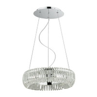 Ideal Lux 059587 Quasar SP6 Glass Ceiling Pendant