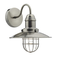 DAR TER0761 Wall Light Antique Chrome