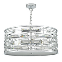 Dar SEV0650 Seville 6 Light Ceiling Pendant