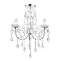 Endon 61251 Tabitha 3 Light Bathroom Chandelier
