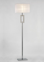 Diyas IL31537 Florence Floor lamp Chrome
