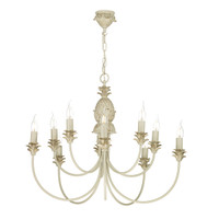 David Hunt CAB2312 10 Light Cabana Cream Gold