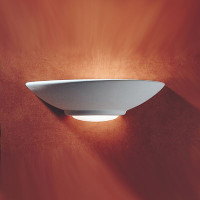 DAR STE0748 Stella Ceramic Wall Light 100W (Paintable)