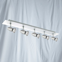 Searchlight 8765CC Saturn Five Bar Spot Chrome