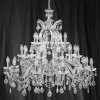 Searchlight 3314-30 Marie Therese 30 Light Chrome Chandelier