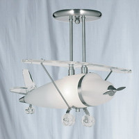 Searchlight 737 Aeroplane Ceiling Pendant