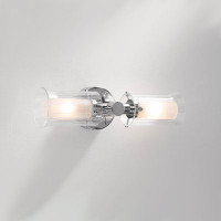 DAR ELB0950 Elba 2 Light Bathroom Wall Light Chrome