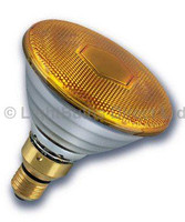 PAR 38 Flood Lamp Yellow 80W