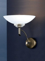 Franklite FL2010/1 Fizz 1 light Wall Light Bronze