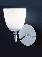 Franklite FL2087/1 Emmy 1 light wall light Chrome