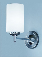 Franklite CO9301/727 Decima Single wall light Satin nickel