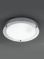 Franklite CF5681 Bathroom Ceiling Light Chrome