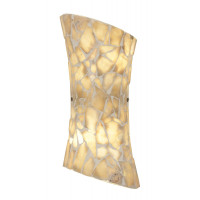 Endon Marconi-2WBNA Marconi Natural Stone Wall Light
