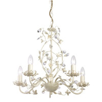 ENDON LULLABY-5CR Lullaby 5 Light Ceiling Light Cream