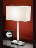 Franklite TL875/9867 Polished Chrome Table Lamp