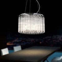 Diyas IL30018 Zanthe 10 Light Glass Ceiling Pendant