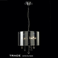 Diyas IL30464 Trace 3 Light Polished Chrome Pendant