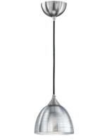 Franklite FL2290/1/927 Vetross Silver Single Pendant
