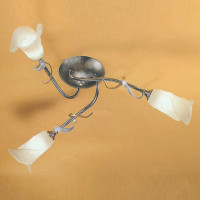 Elstead FLY3/SF Fly 3 light Semi Flush Ceiling Light