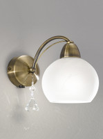 Franklite FL2278/1 Thea 1 Light Bronze Wall Light