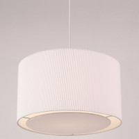 Endon 96043-WH Colette White Non Electric Shade