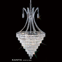 Diyas IL30019 Kanya 8 Light Crystal Pendant