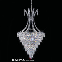 Diyas IL30049 Kanya 10 Light Crystal Pendant