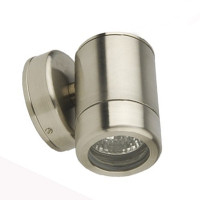 Down Only Grade 304 4mm Stainless Steel Outdoor Wall Light