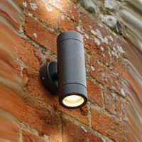 Up & Down Grade 304 1mm Black Outdoor Wall Light
