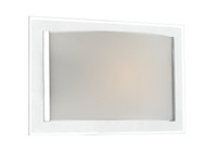 Dar INV0750 Inverse 1 Light Glass Wall Light