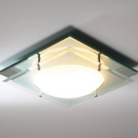 Dar MAN472 Mantra 1 Light Bathroom Ceiling Light